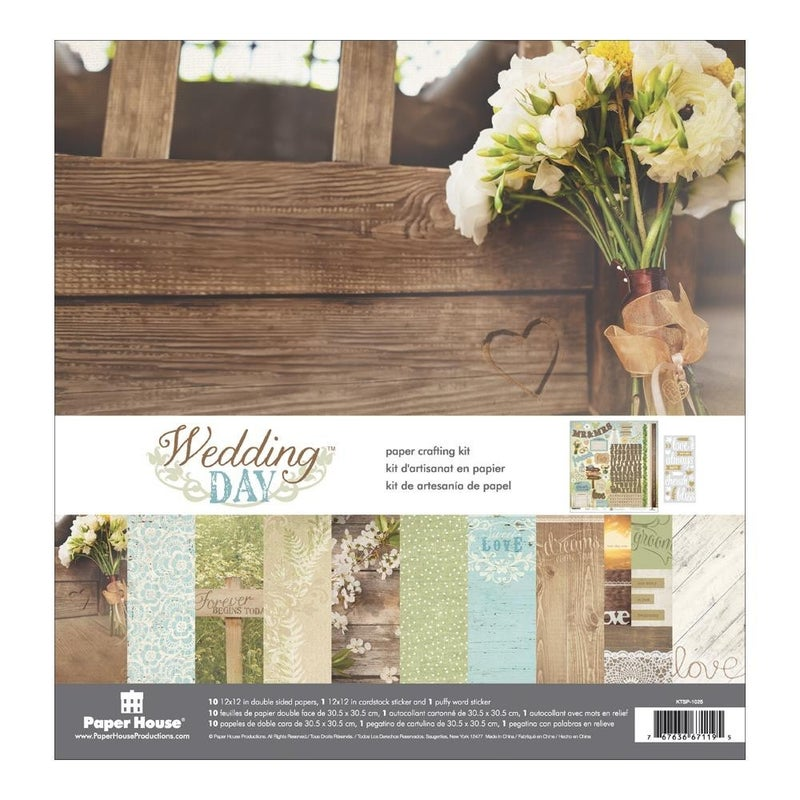 Wedding Day Paper Pack