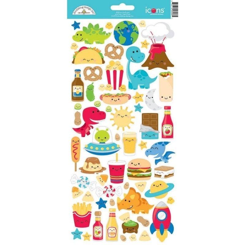 So Much Pun 6x12 Sticker Sheet 2