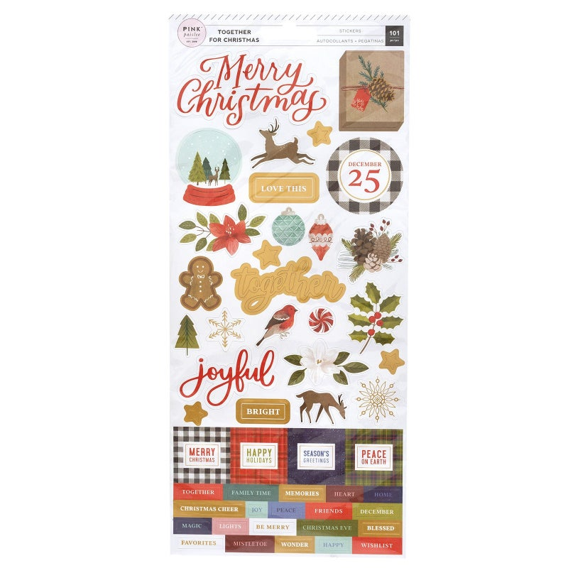 Together for Christmas Stickers