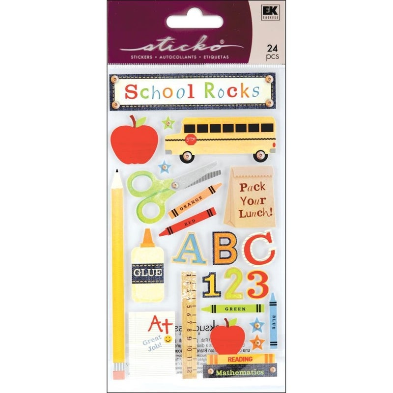 School Rocks Stickers