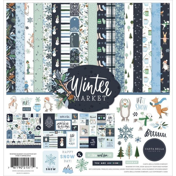 Winter Market Paper Pack