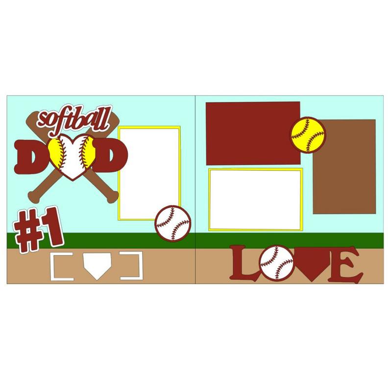 Softball Dad kit