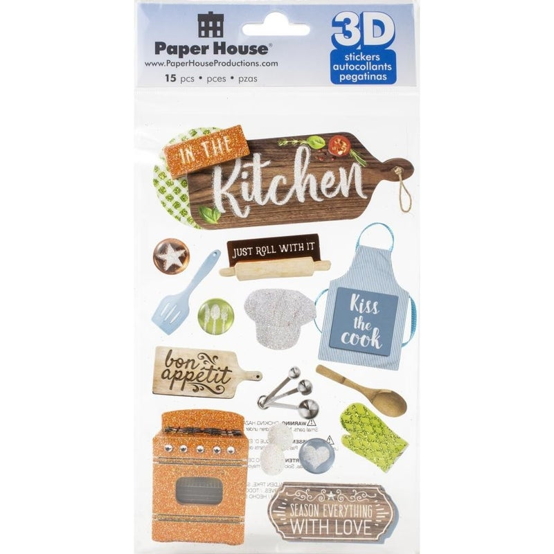 Kitchen 3D Stickers