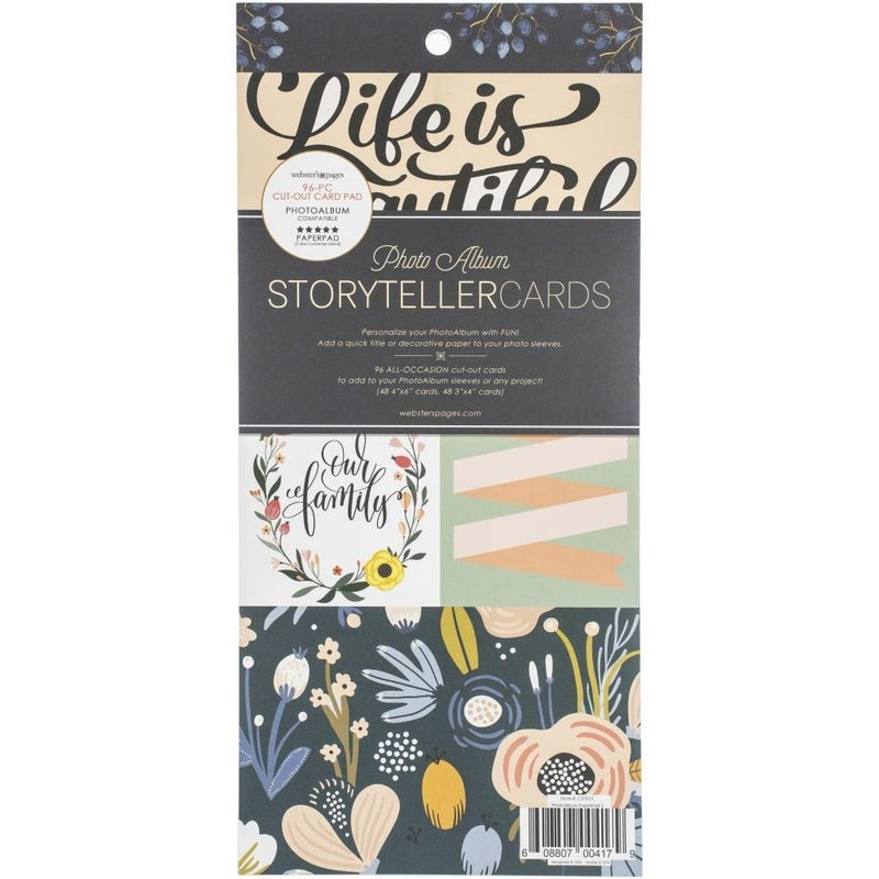 Storyteller Photoalbum Cards Pad