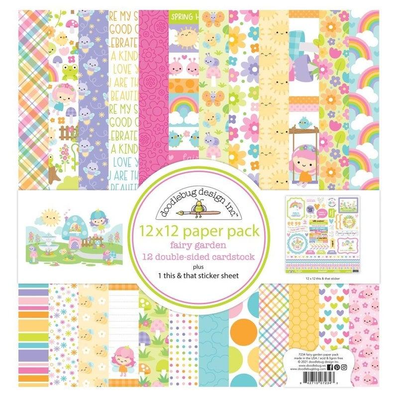 Fairy Garden Paper Pack