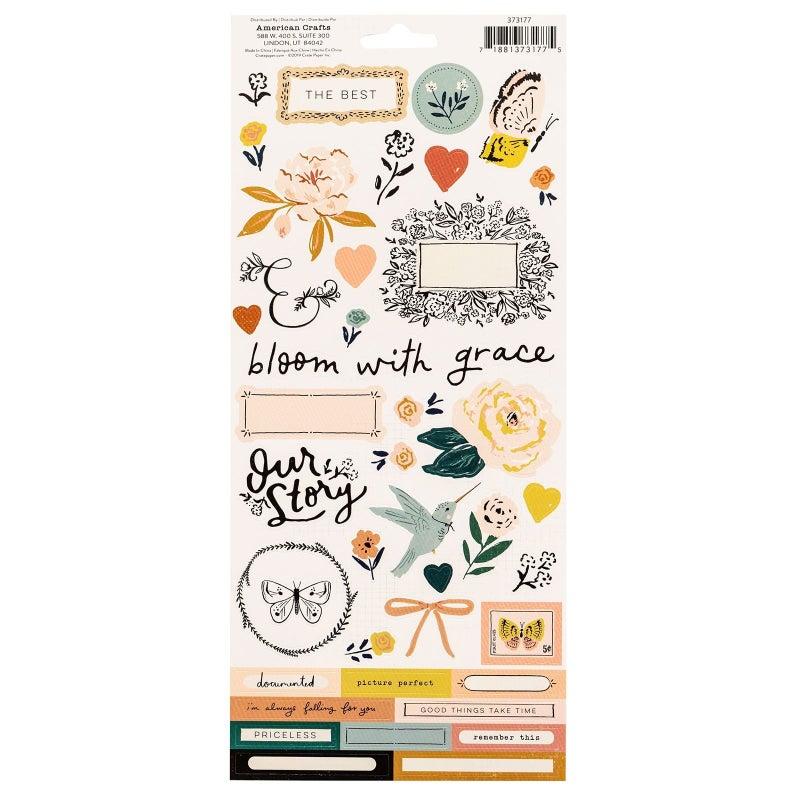 Fresh Bouquet Large Sticker Sheet