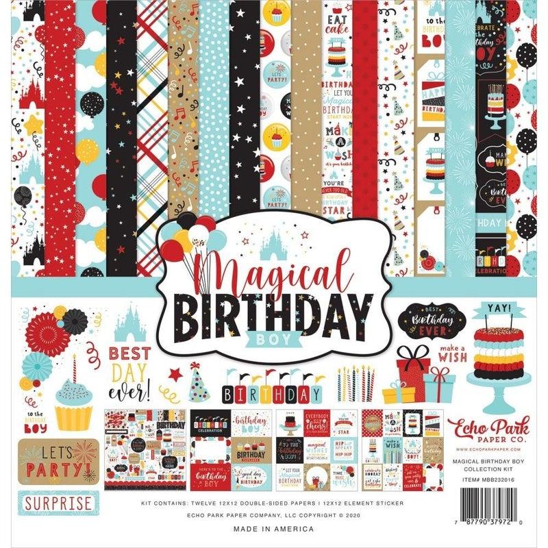 Disney Magical Birthday Boy Paper Pack