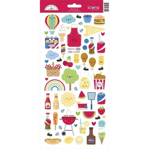 Bar-B-Cute Summer Food Stickers