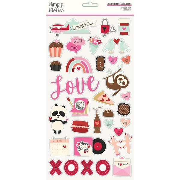 Sweet Talk Chipboard Thickers