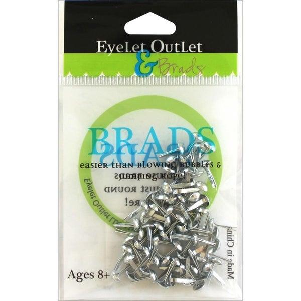 4mm Brads - Silver