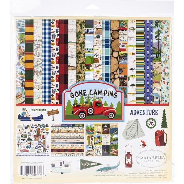Gone Camping Paper Pack