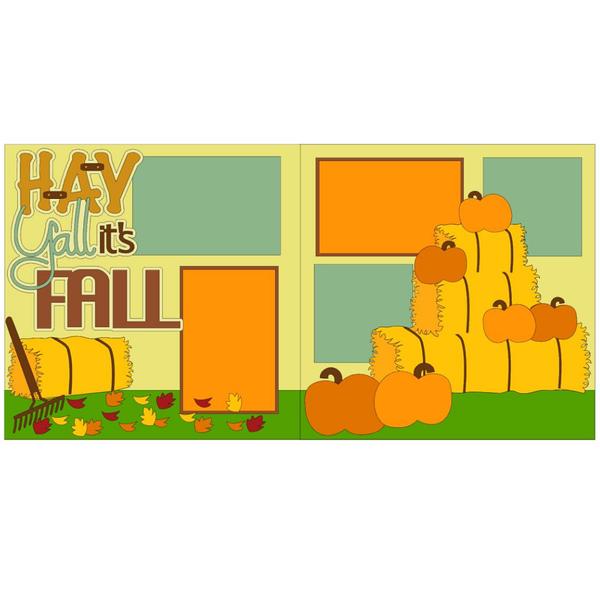 Hay Y'all it's Fall Kit