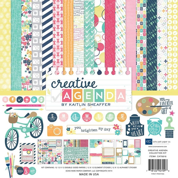 Creative Agenda Collection Kit
