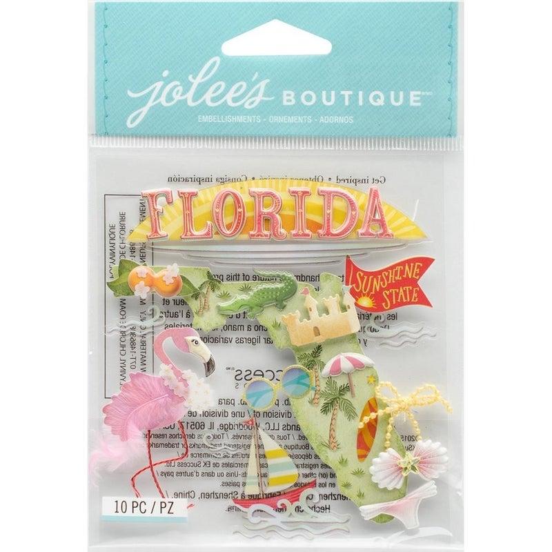 Florida Travel Dimension Stickers