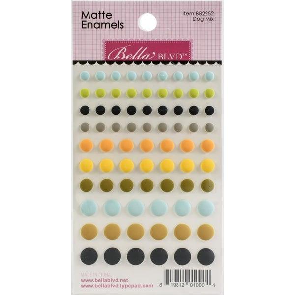 Dog Mix Puffy Dots