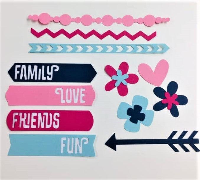 DML Happy Memories Cutouts