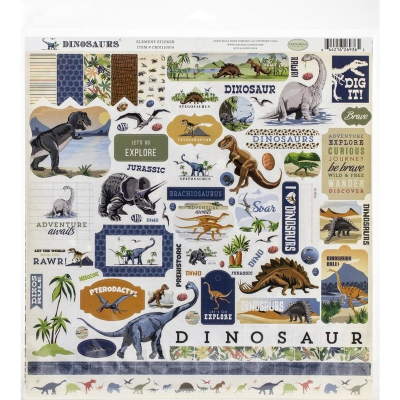 Dinosaurs Paper Pack