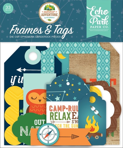 Summer Adventure Frames & Tags