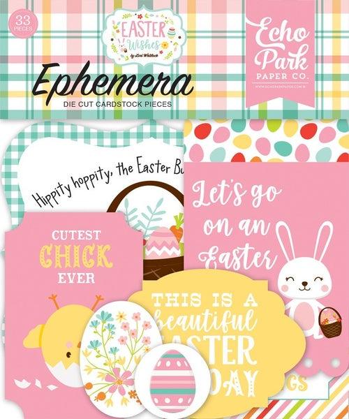Easter Wishes Ephemera