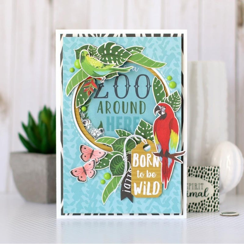 Animal Safari Paper Pack