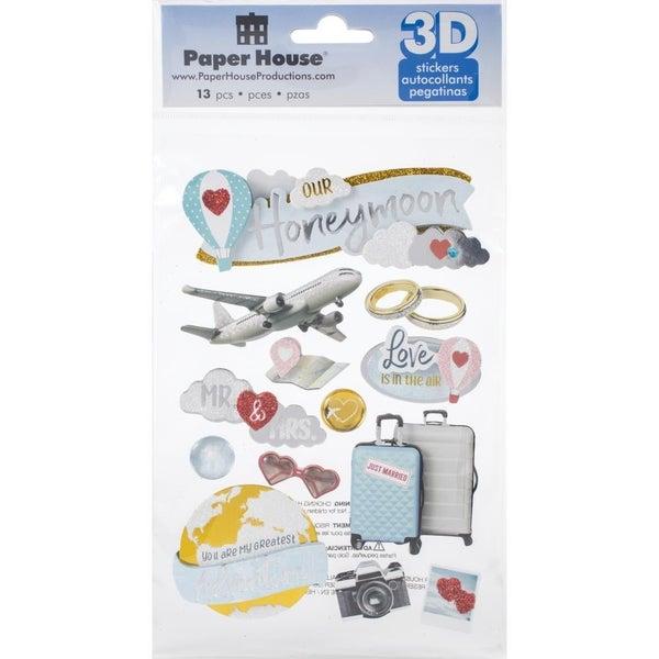 Honeymoon 3D Stickers