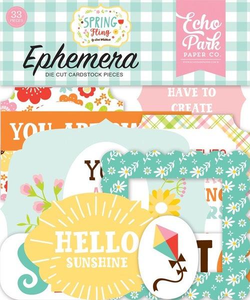 Spring Fling Ephemera
