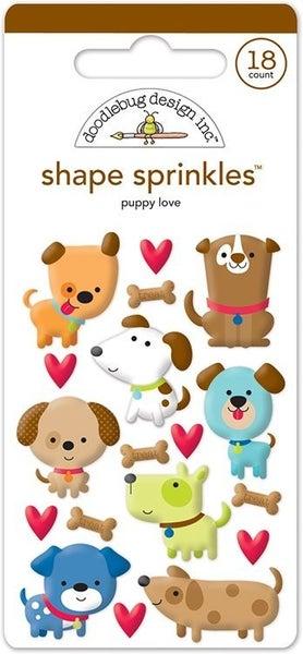 Puppy Love Shape Sprinkles