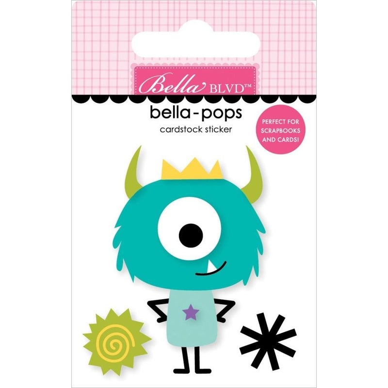 Monsters & Friends Little Monster Bella-pop