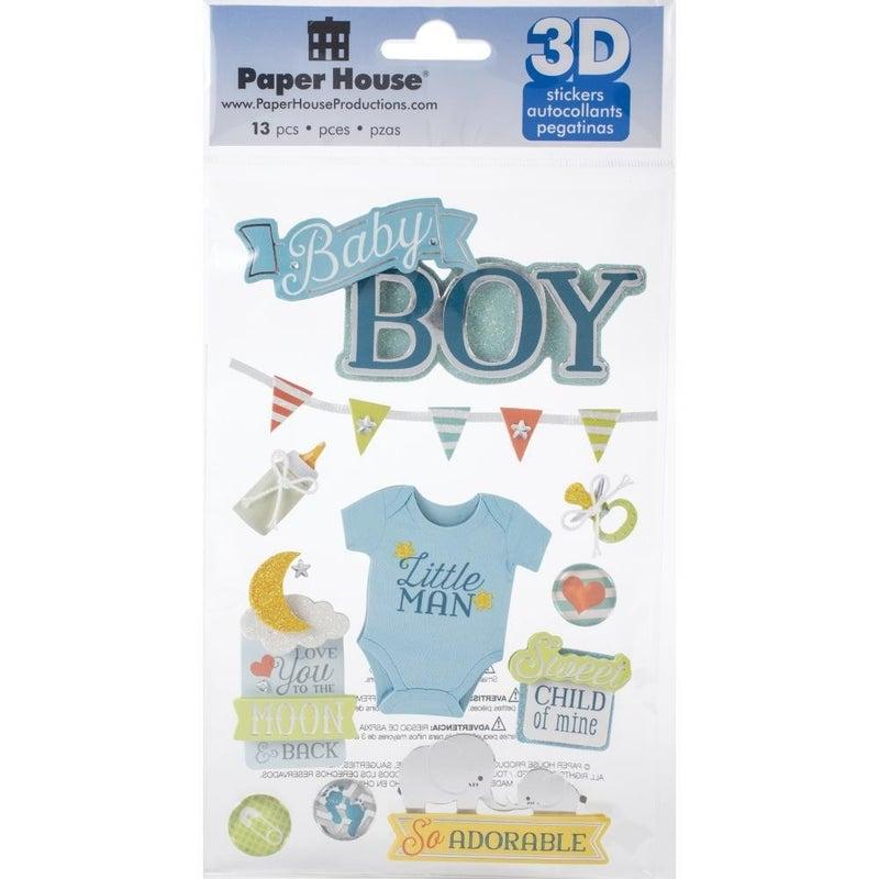 Baby Boy 3D Stickers