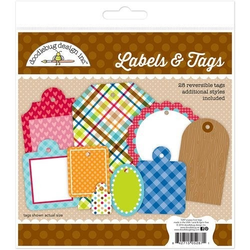 Puppy Love Labels & Tags