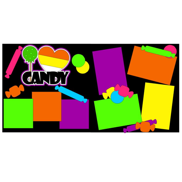 I Love Candy kit