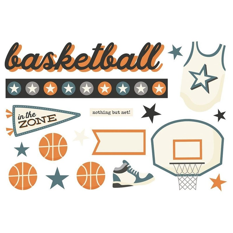Basketball Page Pieces