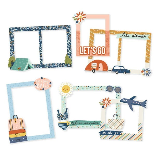 Safe Travels Chipboard Frames