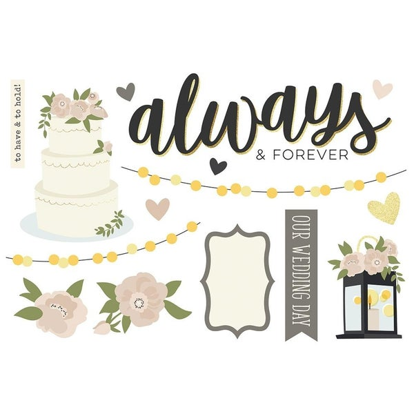 Wedding Page Pieces