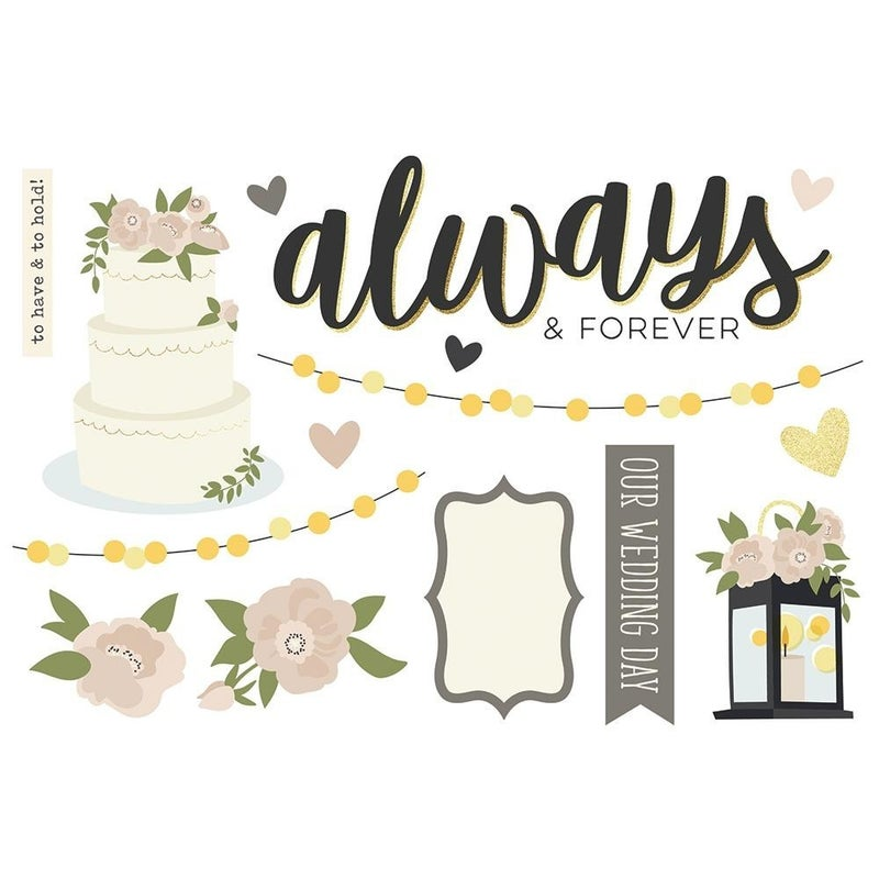 Wedding - Happily Ever After - Page Pieces