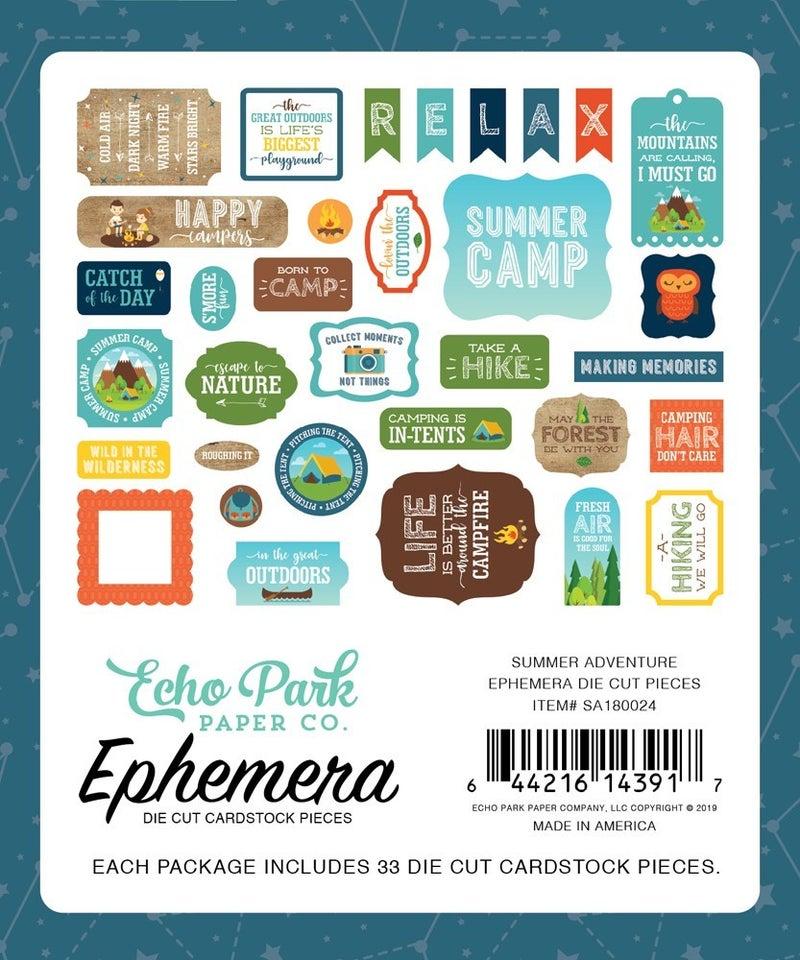 Summer Adventure Ephemera