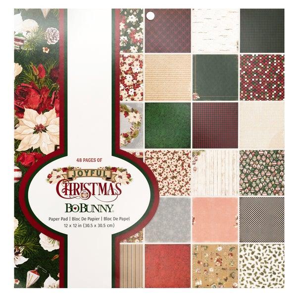 Joyful Christmas 12x12 Paper Pad