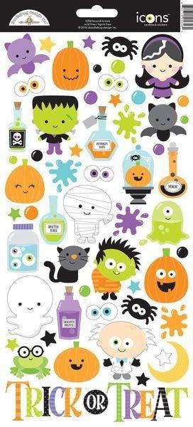 Halloween 6x12 Sticker Sheet