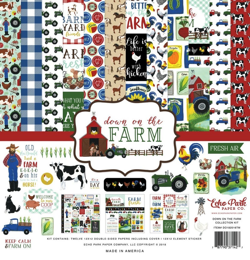 Down on the Farm Paper Pack