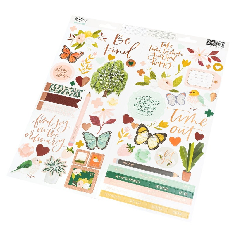 Willow 6x12 Sticker Sheet