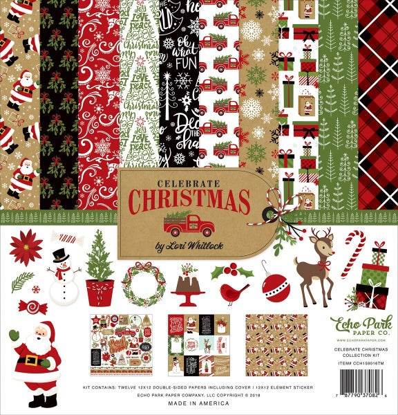 Celebrate Christmas Paper Pack