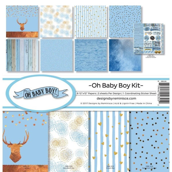 Oh Baby Boy Paper Pack