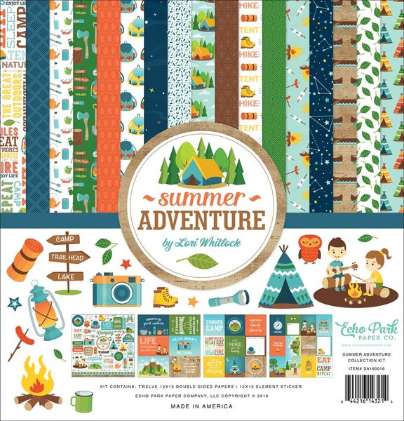 Summer Adventure Paper Pack
