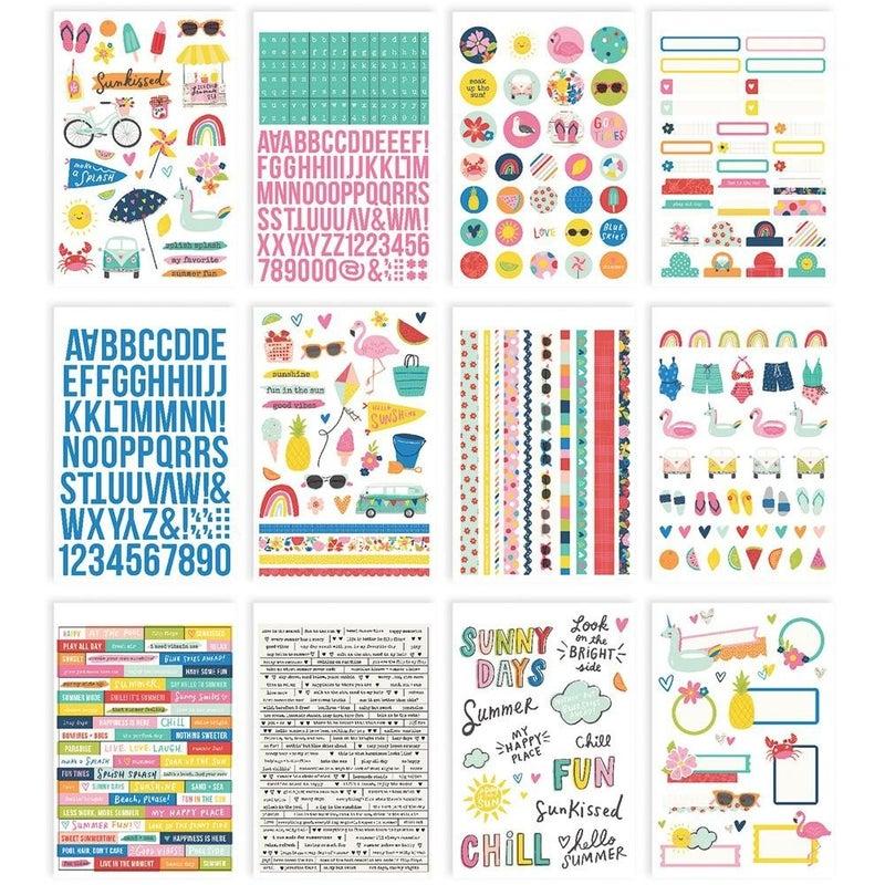 Simple Stories Sunkissed Summer Sticker Book