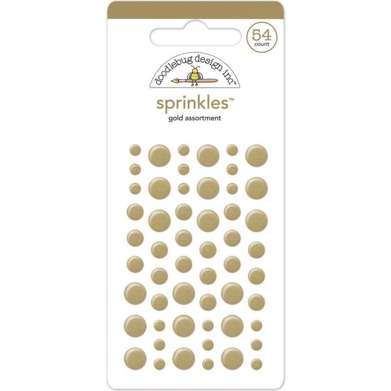 Doodlebug Sprinkles - Gold