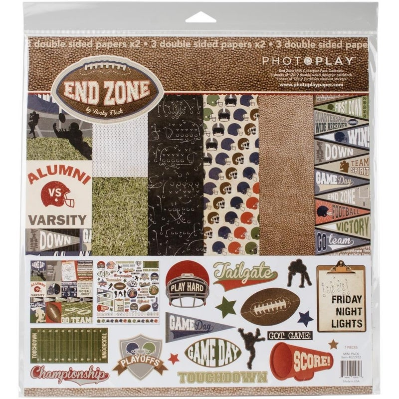 Photoplay End Zone Paper Pack