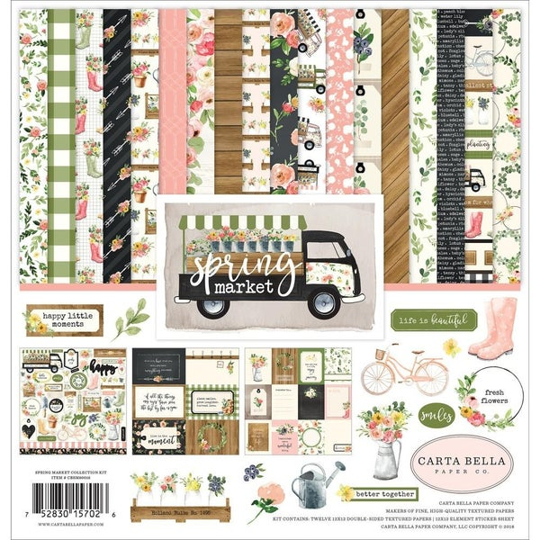 Carta Bella Spring Market Pack