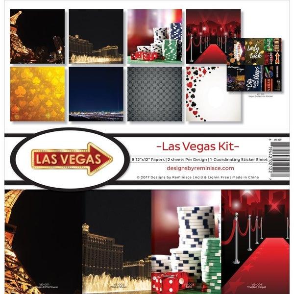 Las Vegas Paper Pack