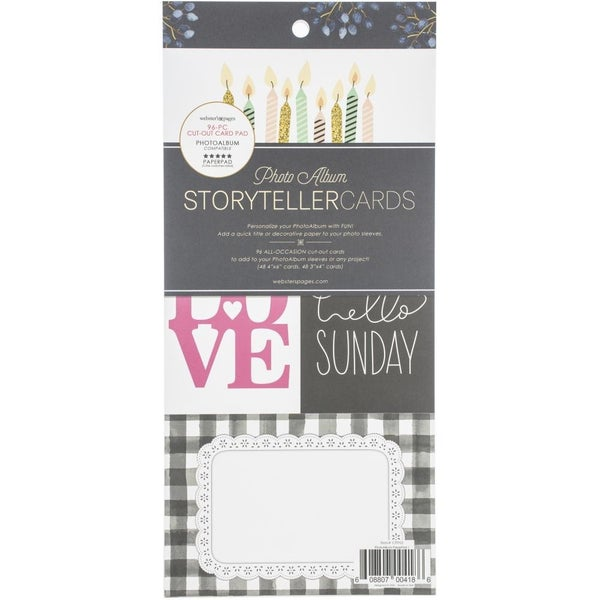 Storyteller Cards and Frames Pad
