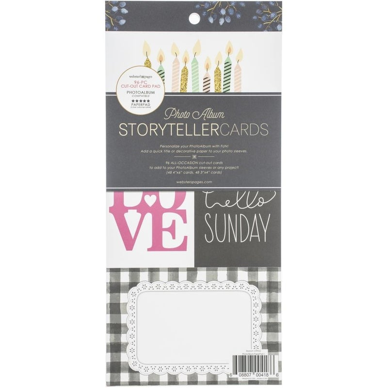 Storyteller Cards and Frames Pad